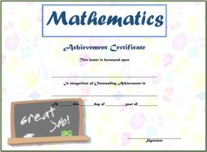 Math achievement certificate template the best pdf templates math achievement certificate template math award certificate pdf math certificate pdf printable math maxwellsz