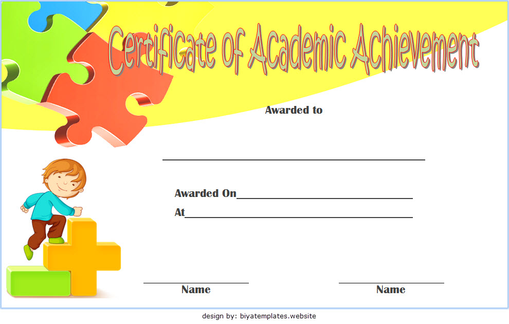 Math Achievement Certificate Template The Best Pdf Templates