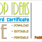 9+ Honor Society Certificate Template FREE Download By Paddle
