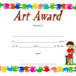 Art Award Certificate Template 9