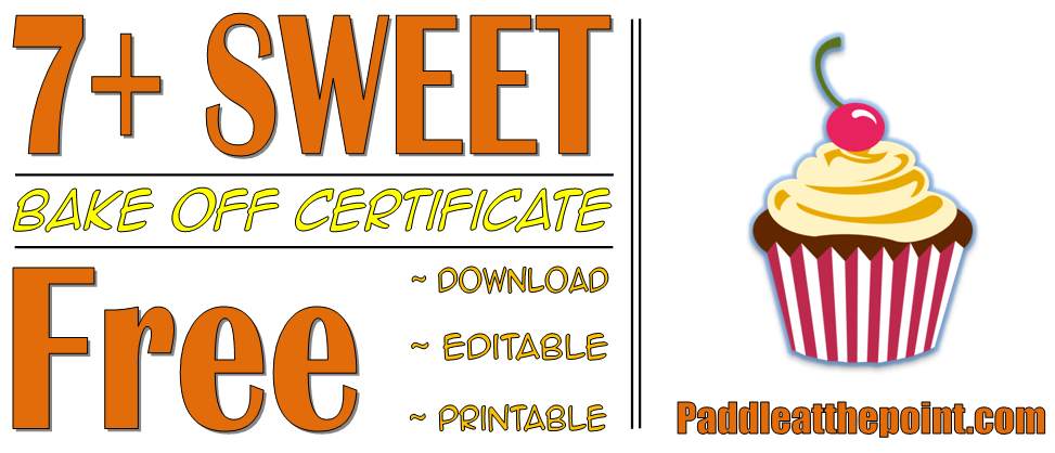 bake off certificate template, bake off winner certificate templates, great british bake off certificate, baking contest certificate template