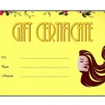 Beauty Salon Gift Certificate 1