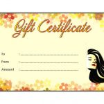 beauty salon gift certificate template, beauty salon gift certificate sample, free printable beauty salon gift certificate templates, free hair salon gift certificate, free printable salon gift certificate templates, salon gift certificate ideas, hair salon gift certificate template word