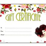 Beauty Salon Gift Certificate