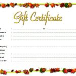 Beauty Salon Gift Certificate 7