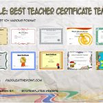 Best Teacher Certificate Templates