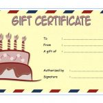 Happy Birthday Gift Certificate 1