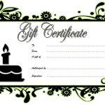 Happy Birthday Gift Certificate 2