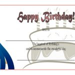 Happy Birthday Gift Certificate 5