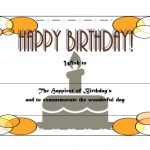 Happy Birthday Gift Certificate 6