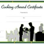 Cooking Competition Certificate Template 2