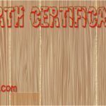 Dog Birth Certificate Printable FREE By Paddle
