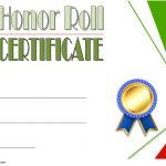 Editable Honor Roll Certificate Template 3
