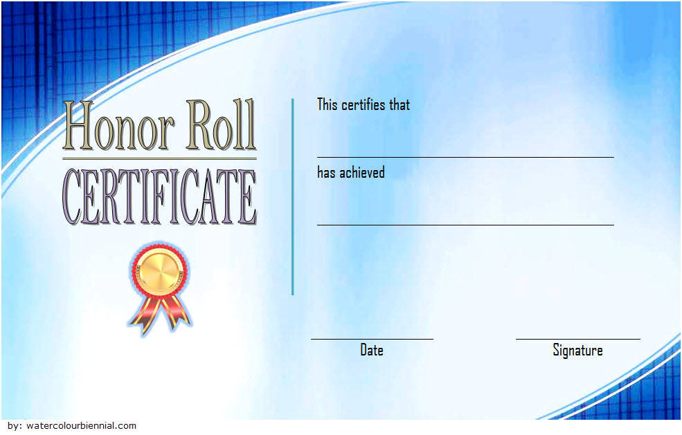 editable honor roll certificate templates