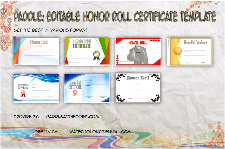 free editable honor roll certificate template, principal's honor roll certificate template, ab honor roll certificate template, honor roll certificate template microsoft word