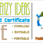 FRENZY Art Award Certificate Free Download By Paddle