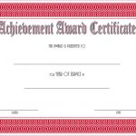 Long Service Award Certificate Template 10