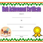Math Achievement Certificate Template 4