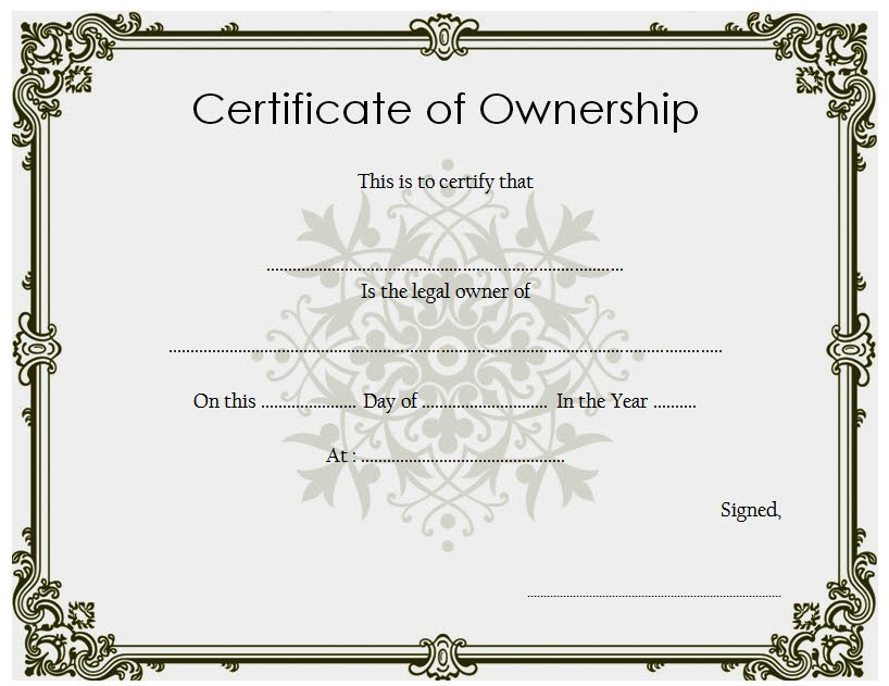 ownership certificate templates, property ownership certificate template, certificate of stock ownership template, certificate of ownership form, pet ownership certificate template, free printable certificate of ownership, transfer of ownership certificate template, letter of ownership template, llc certificate of ownership template, certificate of ownership of business, certificate of ownership house