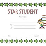 Star Student Certificate Template 4