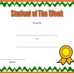 Student Of The Week Template 7