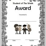 Student Of The Week Template 9