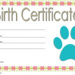 Stuffed Animal Birth Certificate Template: 7+ Funny Designs