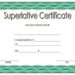 Superlative Certificate Templates – 10+ Respected Awards