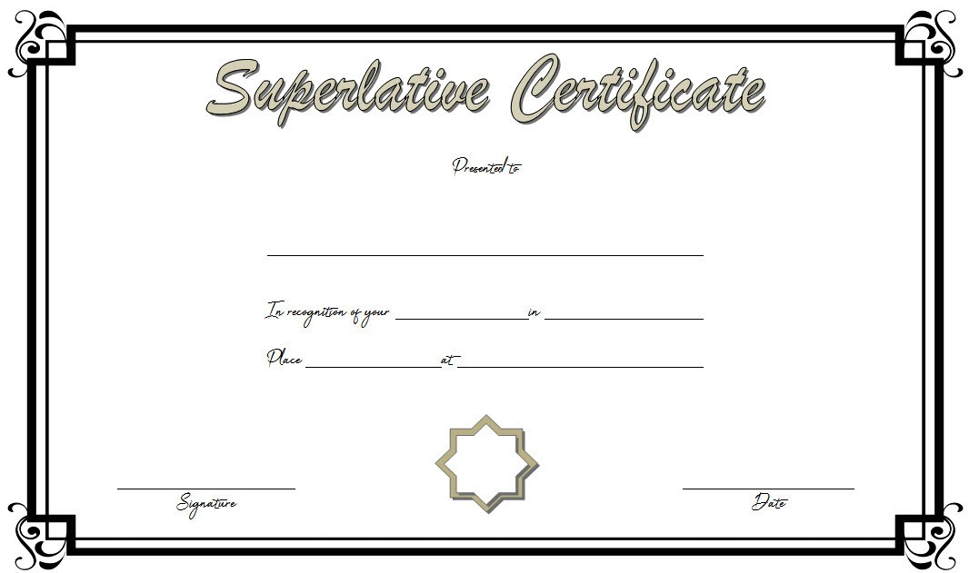 superlative certificate templates, superlative award certificate template, senior superlative certificate templates, free printable superlative certificate awards, superlative certificates printable, certificate of achievement template, humorous office award ideas, superlative certificate word templates, superlative awards for work, editable certificate template, certificate templates free download, certificate of appreciation templates