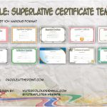 Superlative Certificate Templates By Paddle