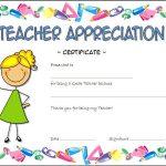 Teacher Appreciation Certificate Template 5