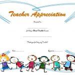 Teacher Appreciation Certificate Template 6
