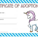 Unicorn Adoption Certificate Template 1