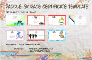 5k Race Certificate Template – 7+ Best Ideas