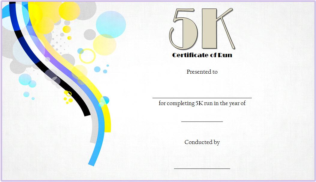 5k race certificate template, 5k winner certificate, color fun run certificate, free running award certificate templates, marathon finisher certificate template, 5k run certificate, fun run finisher's certificate, fun run certificate participation, certificate of completion template free download
