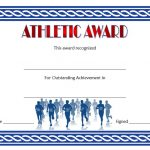 Athletic Award Certificate 5