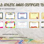 Download 10+ Best Ideas of Athletic Award Certificate Template for School Sports, Running, Participation with pdf and Microsoft Word design formats free!
