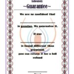 Authenticity Certificate Template 7