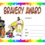 Bravery Award Certificate Template 1