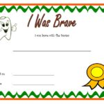 Bravery Award Certificate Template 7