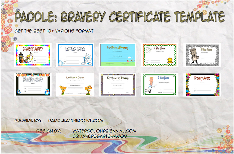 Get 10+ best ideas of Bravery Certificate Templates for children's, hospital, immunisation, dentist with hero, bugs bunny, space styles, etc!
