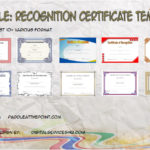 Certificate Of Recognition Templates By Paddle
