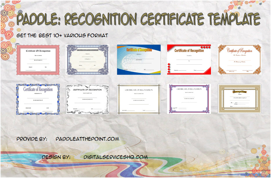 Get 10+ best ideas of Recognition Certificate Editable for long service award, completion, graduation, community with excellent designs!
