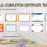 Completion Certificate Templates By Paddle