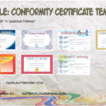 Conformity Certificate Templates By Paddle