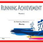 Editable Running Certificate 1