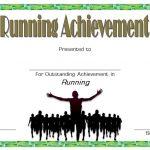 Editable Running Certificate 3
