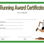 Editable Running Certificate 4