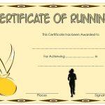 Editable Running Certificate 7