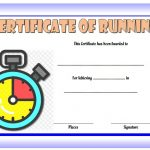 Editable Running Certificate 9